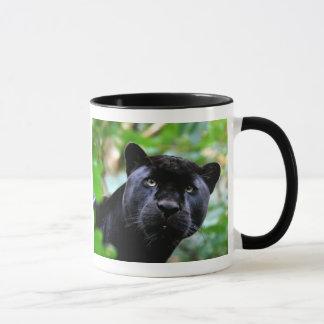ブラックパンサーのマクロ マグカップ
