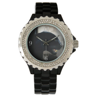 ブラックパンサーの動物愛好家 腕時計