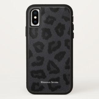 ブラックパンサーの毛皮 iPhone X ケース