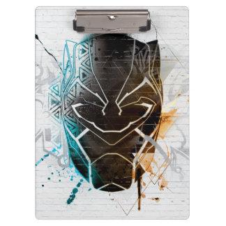 ブラックパンサー|の二重ヒョウの通りの芸術 クリップボード
