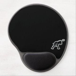 ブラックパンサー/白い背景 ジェルマウスパッド