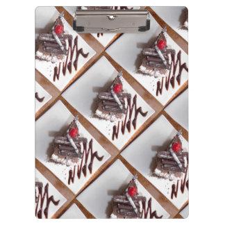 ブラックフォレストのケーキのクリップボード クリップボード