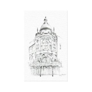 ブラックプールの壮大な劇場 キャンバスプリント