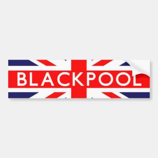 ブラックプール: イギリスの旗 バンパーステッカー
