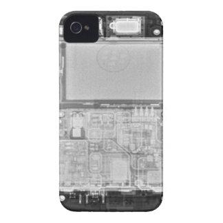 ブラックベリーのはっきりしたな箱のX線 Case-Mate iPhone 4 ケース