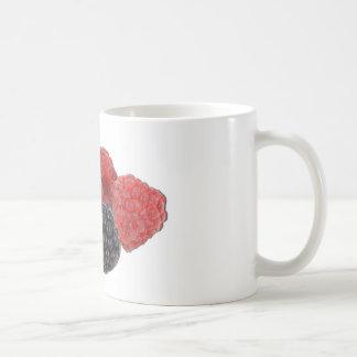 ブラックベリーのラズベリーのブルーベリー コーヒーマグカップ