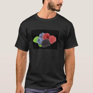 ブラックベリーのラズベリーのブルーベリー Tシャツ