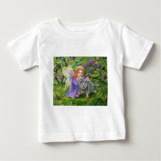 ブラックベリーの妖精およびペットマウス ベビーTシャツ