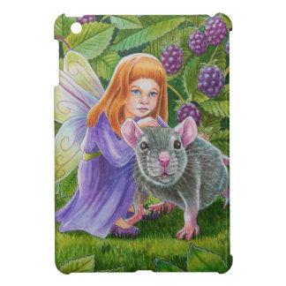 ブラックベリーの妖精およびペットマウス iPad MINIケース