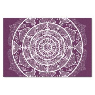 ブラックベリーの曼荼羅 薄葉紙