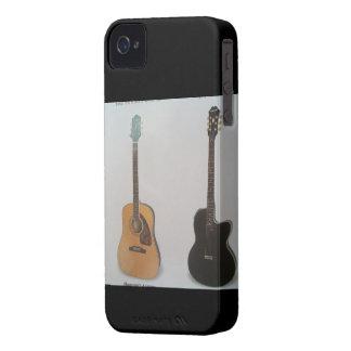ブラックベリーの箱(ギター) Case-Mate iPhone 4 ケース