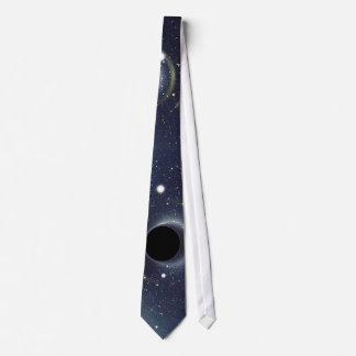ブラックホールのアインシュタインのリングNASA オリジナルネクタイ