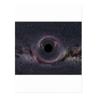 ブラックホールの銀河 ポストカード