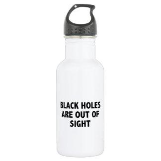 ブラックホールは見えないところにあります ウォーターボトル