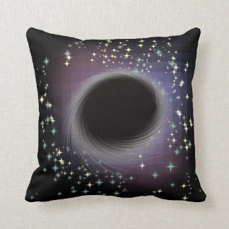 ブラックホール-あなたの暗い思考を吸って下さい-枕 クッション