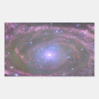 ブラックホール 長方形シール