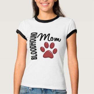 ブラッドハウンドのお母さん2 Tシャツ