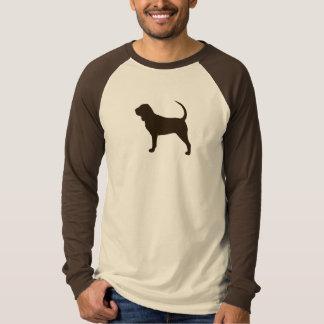 ブラッドハウンドのシルエット Tシャツ