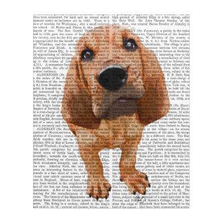 ブラッドハウンドの子犬 アクリルウォールアート