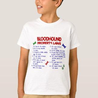 ブラッドハウンドの特性の法律2 Tシャツ
