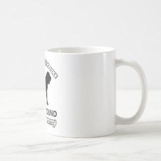 ブラッドハウンド犬のデザイン コーヒーマグカップ