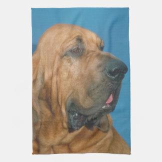 ブラッドハウンド犬の台所タオル キッチンタオル
