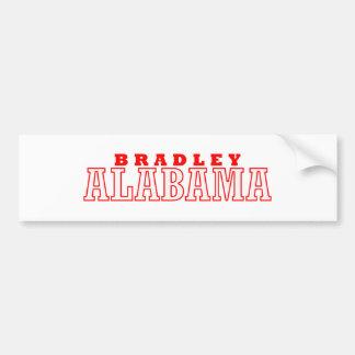 ブラッドリーのアラバマ都市デザイン バンパーステッカー