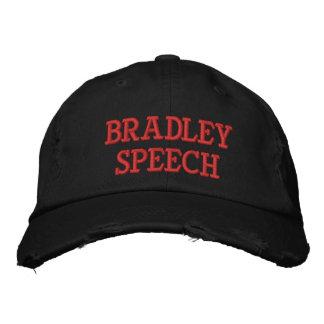 ブラッドリーのスピーチの動揺してな野球帽 刺繍入りキャップ