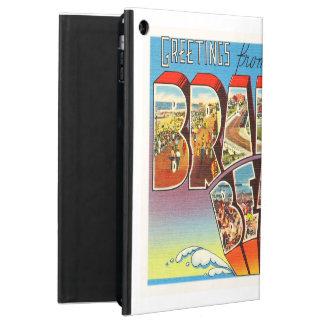 ブラッドリーのビーチのニュージャージーNJのヴィンテージの古い郵便はがき iPad AIRケース