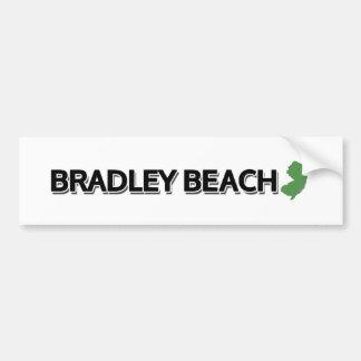 ブラッドリーのビーチ、ニュージャージー バンパーステッカー