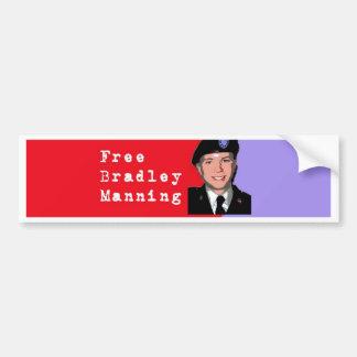 ブラッドリーの人を配置すること バンパーステッカー