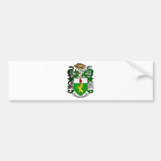 ブラッドリーの紋章付き外衣 バンパーステッカー