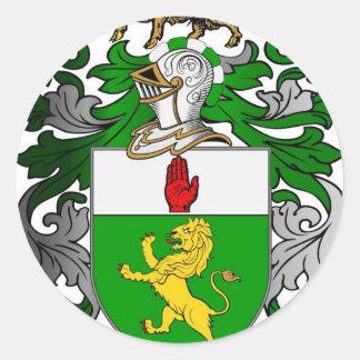 ブラッドリーの紋章付き外衣 ラウンドシール