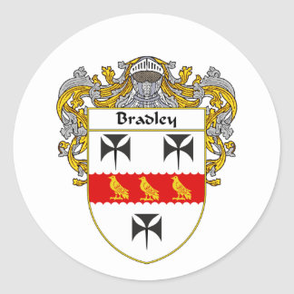 ブラッドリーの紋章付き外衣(包まれる) ラウンドシール
