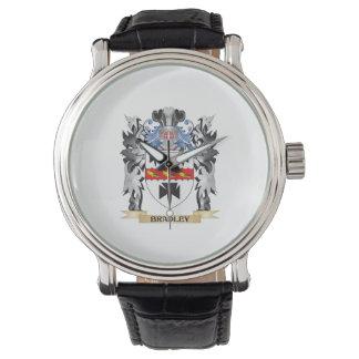 ブラッドリーの紋章付き外衣-家紋 腕時計