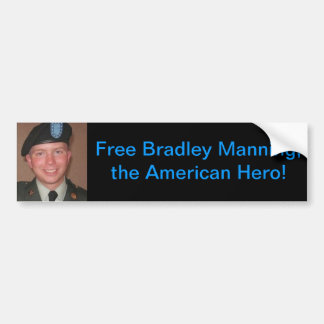 ブラッドリー人を配置します、自由なブラッドリー バンパーステッカー
