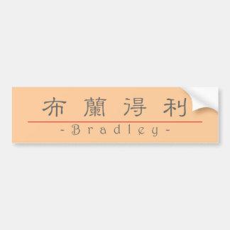 ブラッドリー20482_2.pdfの中国のな名前 バンパーステッカー
