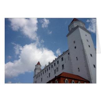 ブラティスラヴァの城の雲 カード