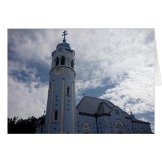 ブラティスラヴァ教会青 カード