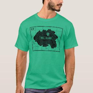 ブランクの島 Tシャツ