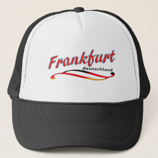 ブランクフルトのトラック運転手の帽子 キャップ