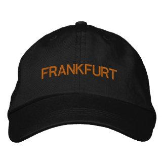 ブランクフルトの帽子 刺繍入りキャップ