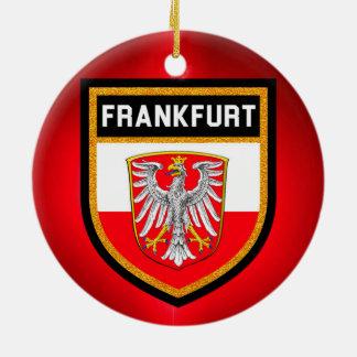 ブランクフルトの旗 セラミックオーナメント