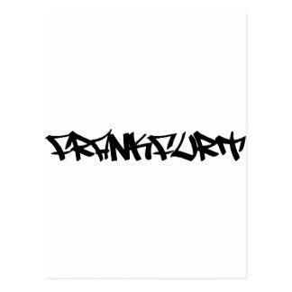 ブランクフルトアイコン ポストカード