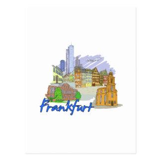 ブランクフルト都市旅行休暇design.png ポストカード
