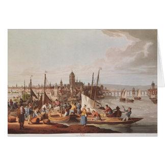 ブランクフルト1814年の眺め カード