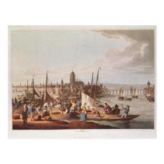 ブランクフルト1814年の眺め ポストカード