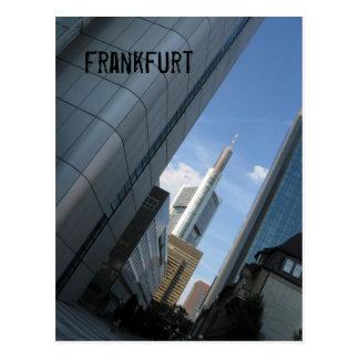 ブランクフルト ポストカード