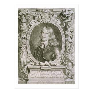ブランデンブルクのFrederickウィリアムの(1620-88年の)有権者 ポストカード