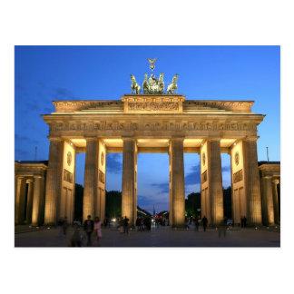 ブランデンブルク門の夕べ ポストカード